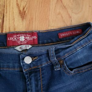 Lucky Brand Sweet 'n low dark wash Jeans